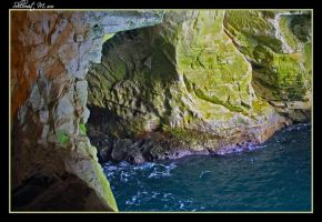 Sea cave 2 by ShlomitMessica