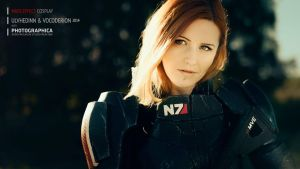 Commander Shepard - Mass Effect (N7 cosplay armor) by Vocoder