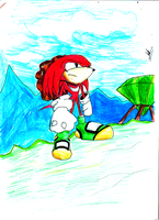 Knuckles by kaiserkleylson