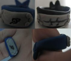 Naruto Headbands by BleedingSmile
