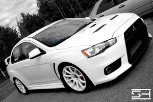 RalliArt Evo X by Styrox-Art