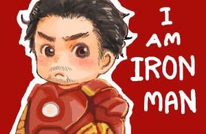 Chibi Tony by Kadeart0