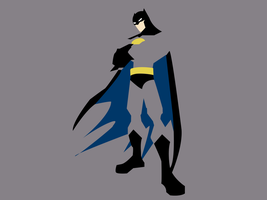 The Batman by dragonfang42