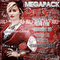 +MEGAPACK: Demi Lovato. by StrongHeartEditions