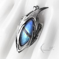 ENRNHGAR DRACO, ring (dragon's eye) by LUNARIEEN