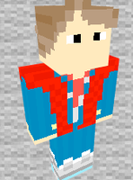 Marty McFly Minecraft Skin Preview by THATANIMATEDGUY