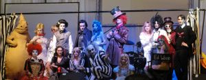 French Tim Burton's cosplays by Emma-in-candyland