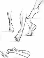foot study by Vespoher
