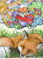 What do Foxes Dream of? by NicoleLekach