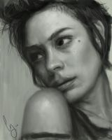 Value Study Shannyn Sossamon by Pungyeon