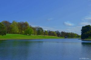 Sefton Park Lake by Red-Smurfette