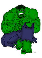 Hulk by Luned13