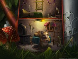 Mouse House by KPetrasko