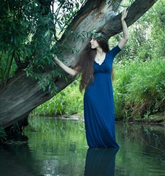River by Snowfall-lullaby
