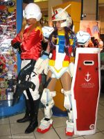 Mobile Suit Gundam Girl 9 by polidread