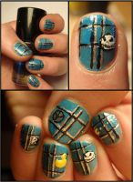random nailart by Ninails