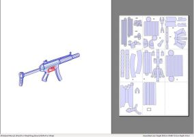Pepakura MP5 by smilie5768