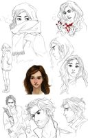 Legend Unleashed Sketches by palnk