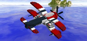 LEGO Crimson Skies - Devastator 2.0 by Aryck-The-One