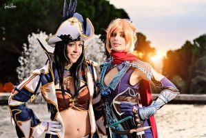 Granado Espada cosplay - Musketter and Catherine by ThelemaTherion