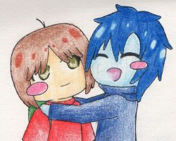 Mac and Bloo by demonlucy