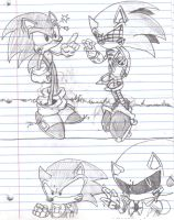 Sonic comic page 6 by Callihanclan