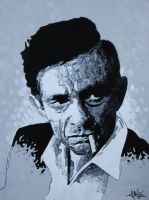 Johnny Cash by STiX2000