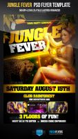 Jungle Fever Club Flyer Template by ImperialFlyers