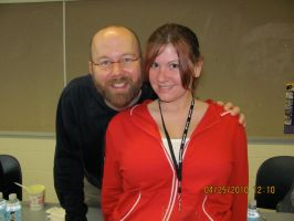 Me with Christopher Sabat by KimNichole