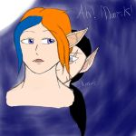 Sweet Elven kisses by EpicLevelSorcerer