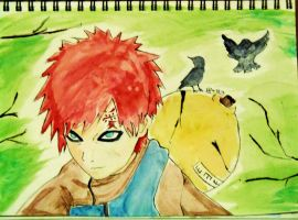 Gaara- The Life of the Desert by xpripri81