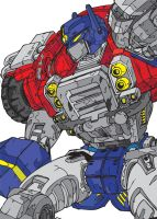 Transformers Armada - Optimus by Rarthus