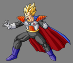 King Vegeta, SSJ by hsvhrt