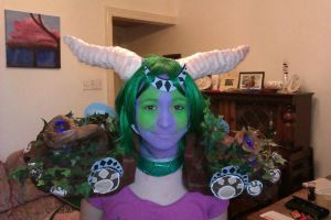 Ysera complete shoulders and make up test by karaseechakra