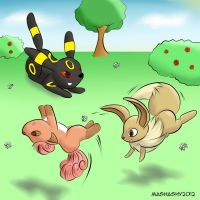 PKMN: Backflips For Andrewmullins by mashashy