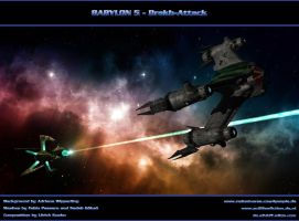 BABYLON 5 - Drakh-Attack by ulimann644