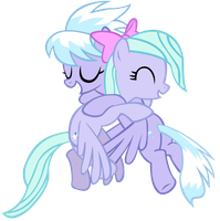 Cloudchaser and Flitter by aeroyTechyon-X
