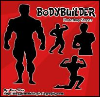 Bodybuilder PS Custom Shapes by darkmis29