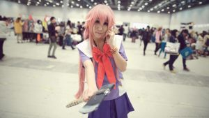 Cosplay - The Future Diary - Gasai Yuno by roamest