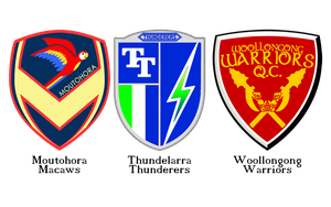 Quidditch Logos 3: The game down under. by KingonAir