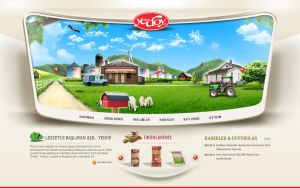 Yedoy Web Konsept by grafiket