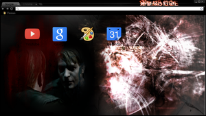 Silent Hill 2 CHROME .::THEME::. P2U by WhereIsCharlesLee
