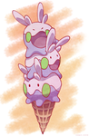 Pile of Goomy Cone by princess-phoenix
