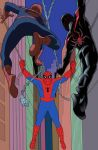 Too many Spider-men in color by BroHawk