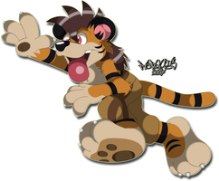 Tiger Rush by Marquis2007
