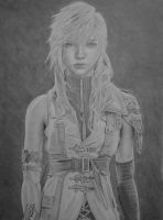 Lightning (Claire) Farron by IsaacCabrera