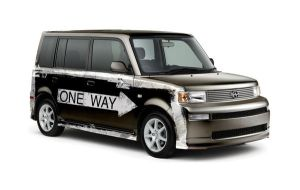 Scion One Way by torchdesigns