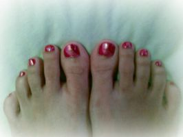 my new nail polished by idielastyr