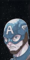 5x17 Captain America by Hodges-Art