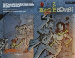 Zombie Bomb 4 Cover by johnraygun